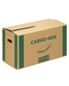 Cargobox Bücherbox braun