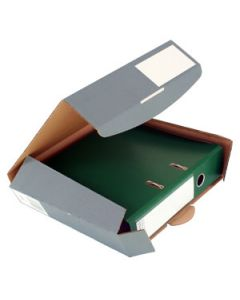 Ordner Transportbox 80 mm anthrazit