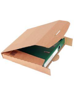 Ordner Transportbox 50 mm braun