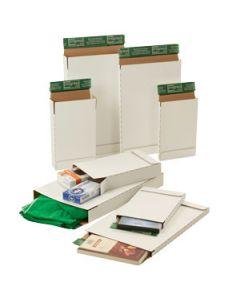 Briefbox aus Wellpappe weiß