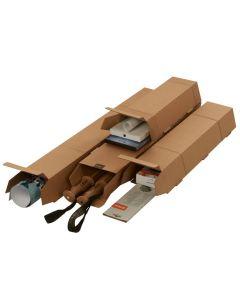 Trapez Versandverpackung für gerollte Güter