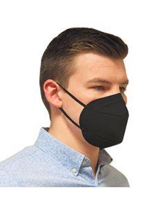 Schwarze FFP2 Maske