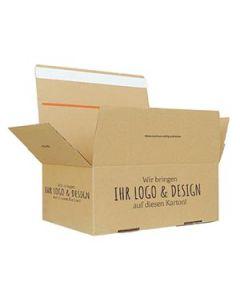Automatikkarton 345 x 256 x 130 mm individuell bedruckt