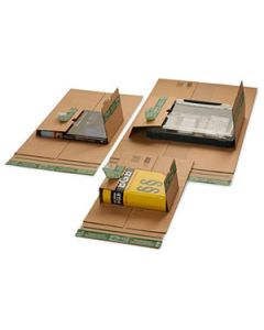 Universal-Versandverpackung PREMIUM mit zentraler Packgutaufnahme