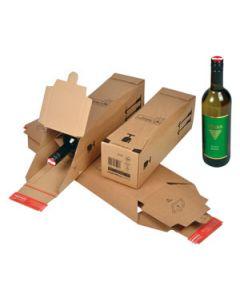 DHL zertifizierte Flaschenverpackung