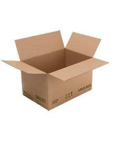 Umweltfreundliche Versandkartons GRASS BOX aus Grasfaseranteilen von enviropack