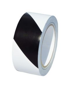 Bodenmarkierungsband schwarz/weiß