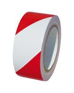 Bodenmarkierungsband rot/weiß