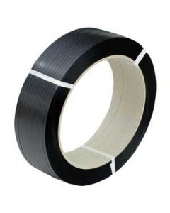 schwarzes PP-Umreifungsband mit 406 mm Kern