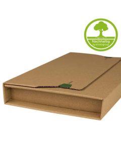 """Wickelverpackung """"GRASS-LINE"""" aus Graspapier"""