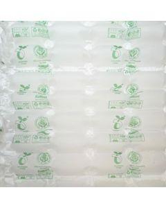 Bio-Folie, home-kompostierbar, milchig, 4 Kammern, 350 lfm
