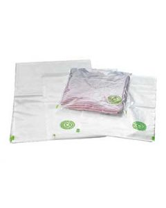 LDPE Poly Flachbeutel aus Recyclat 100 my