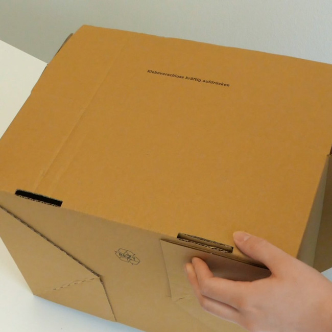 Automatikkarton von Boxboss®