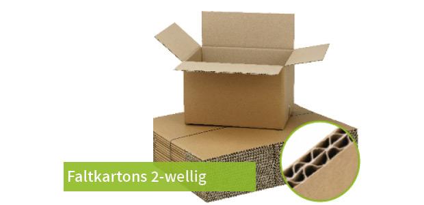 Faltkarton 2-wellig
