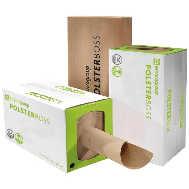 Polsterbox - das Papierpolster aus der Box