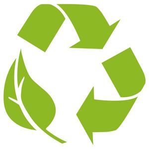 Nachhaltigskeitssymbol Verpackung