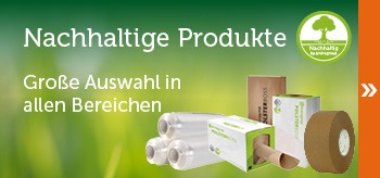 nachhaltige Verpackungen