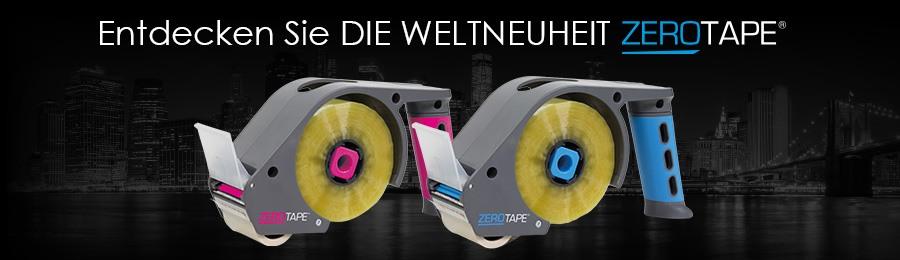 Das neue Packbandsystem - ZeroTape®!